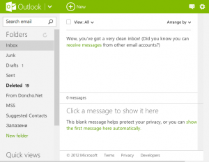 Outlook.com Screenshot