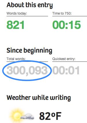 750words.com screen crop